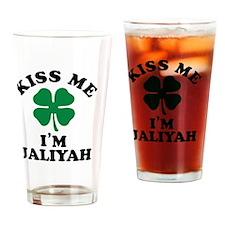 Cute Jaliyah Drinking Glass