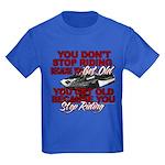 You Don't Get Old Kids Dark T-Shirt