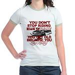 You Don't Get Old Jr. Ringer T-Shirt