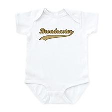 Retro Broadcaster Infant Bodysuit