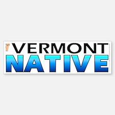 Vermont native (bumper sticker 10x3)