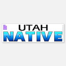 Utah native (bumper sticker 10x3)