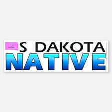 South Dakota native (bumper sticker 10x3)