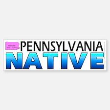 Pennsylvania native (bumper sticker 10x3)