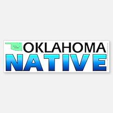 Oklahoma native (bumper sticker 10x3)