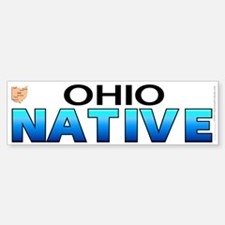 Ohio native (bumper sticker 10x3)