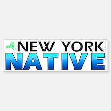 New York native (bumper sticker 10x3)