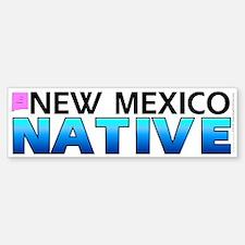 New Mexico native (bumper sticker 10x3)