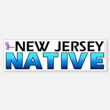New Jersey native (bumper sticker 10x3)