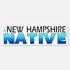New Hampshire native (bumper sticker 10x3)