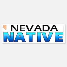 Nevada native (bumper sticker 10x3)