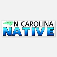 North Carolina native (bumper sticker 10x3)