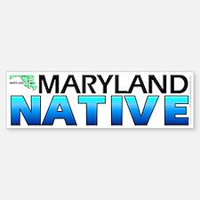 Maryland native (bumper sticker 10x3)