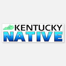 Kentucky native (bumper sticker 10x3)