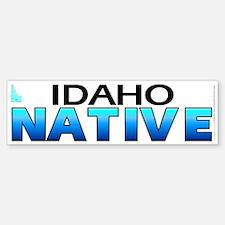 Idaho native (bumper sticker 10x3)