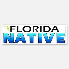 Florida native (bumper sticker 10x3)