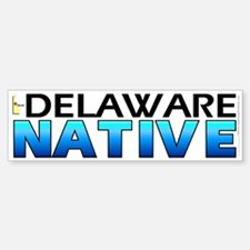 Delaware native (bumper sticker 10x3)