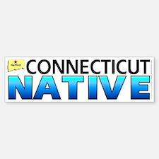 Connecticut native (bumper sticker 10x3)