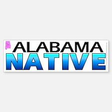 Alabama native (bumper sticker 10x3)