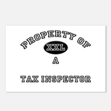Property of a Tax Inspector Postcards (Package of