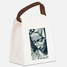 Funny Guadalupe Canvas Lunch Bag