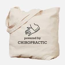 Powered By Chiropractic Tote Bag