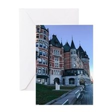 Chateau Frontenac Greeting Cards
