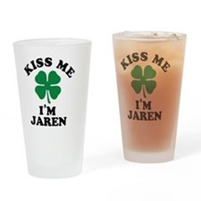 Cute Jaren Drinking Glass