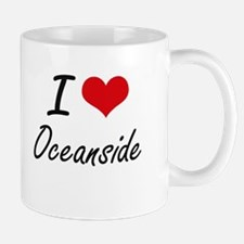 I love Oceanside Maryland artistic design Mugs