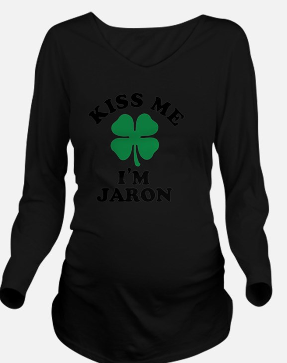 Cute Jaron Long Sleeve Maternity T-Shirt