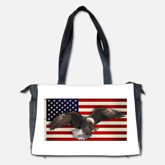 eagle_flag2.png Diaper Bag