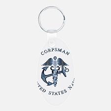 usn_corpsman3 Keychains