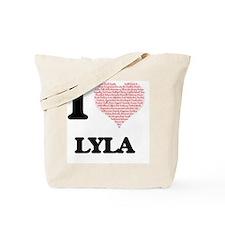 Cute Lyla Tote Bag