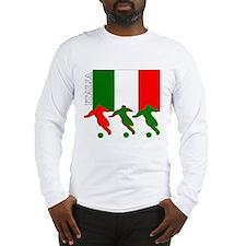 Cute World soccer Long Sleeve T-Shirt