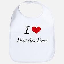 I love Point Aux Peaux Michigan artistic desi Bib