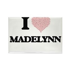 I love Madelynn (heart made from words) de Magnets