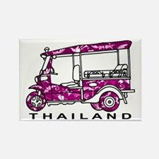 Tuk Tuk Thailand Rectangle Magnet