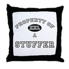 Property of a Stuffer Throw Pillow