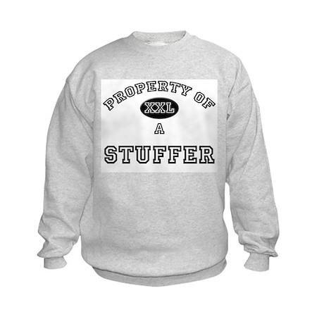 Property of a Stuffer Kids Sweatshirt