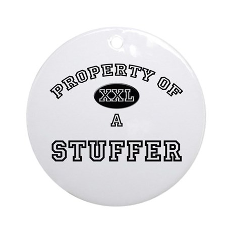 Property of a Stuffer Ornament (Round)