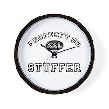 Property of a Stuffer Wall Clock