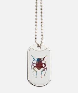 Cute Colorful pictures Dog Tags