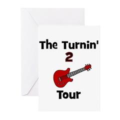 CUSTOM - Turnin' 2 Tour Greeting Cards (Pk of 20)