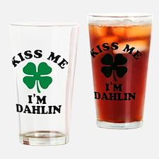Unique Dahlin Drinking Glass