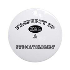 Property of a Stomatologist Ornament (Round)
