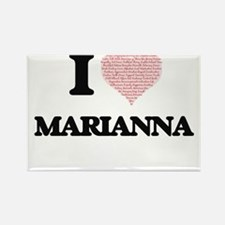 I love Marianna (heart made from words) de Magnets