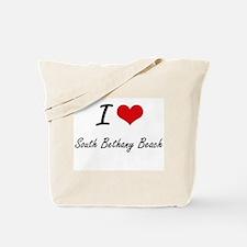 I love South Bethany Beach Delaware arti Tote Bag