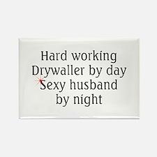 Drywaller Rectangle Magnet (10 pack)