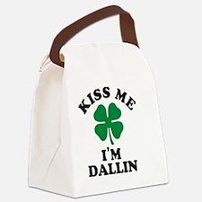 Cute Dallin Canvas Lunch Bag