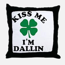 Cute Dallin Throw Pillow